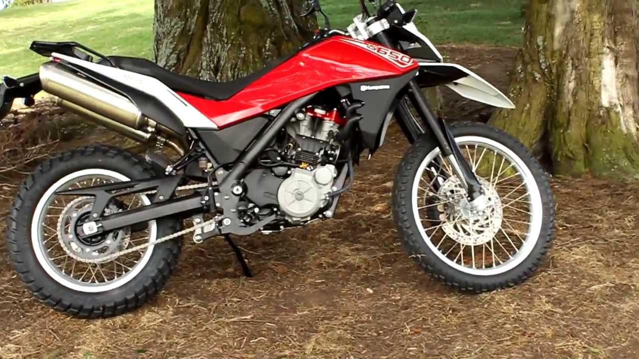 KiwiRider Test Bike. Husqvarna TR650 Terra - YouTube