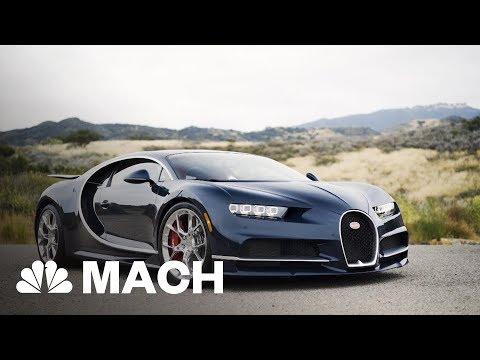 Behind The Wheel Of A Bugatti Chiron, One Of The Fastest Cars In The World | Mach | NBC News