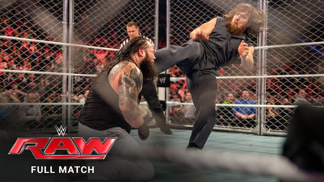 FULL MATCH - The Usos vs. Bray Wyatt & Daniel Bryan - Steel Cage Match: Raw, January 13, 2014