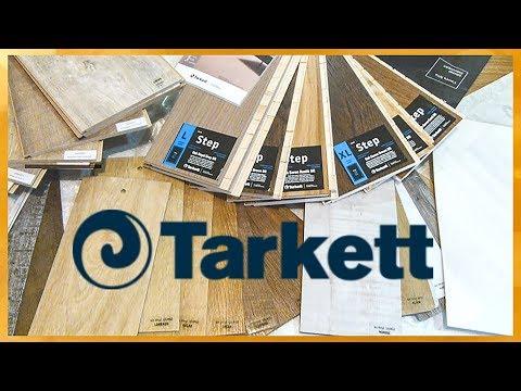 Tarkett/Обзор современных напольных покрытий+пример работы!