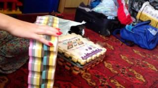 Распаковка Коврик-пазл на пол для малыша