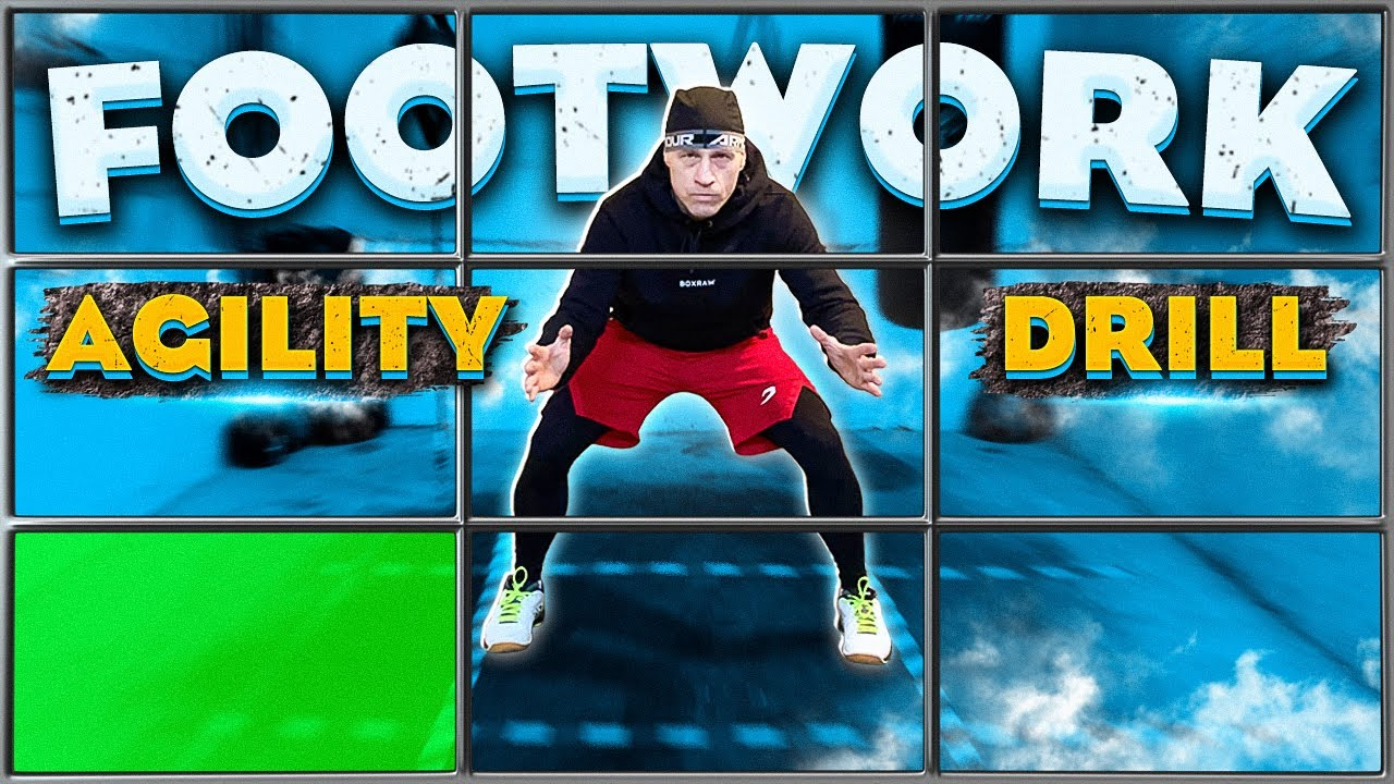 Footwork Agility and Reaction Drill