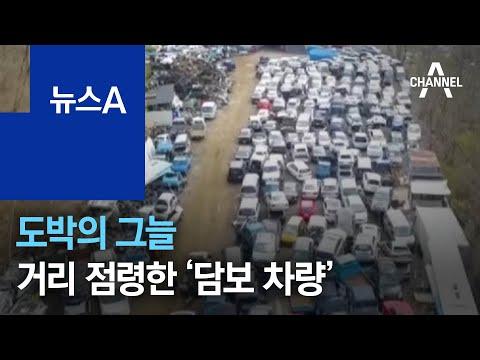 도박의 그늘…거리 곳곳 점령한 '담보 차량' | 뉴스A