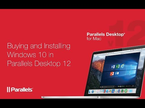 How to buy and install Windows 10 in Parallels Desktop 12