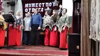 """""""Зимняя ночь"""" исполняет ансамбль народной песни """"русские сударушки""""."""