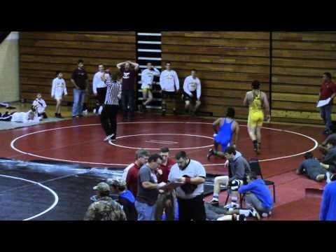 MCHS Wrestling - Wayne County Duals - Jordan vsMcCreary