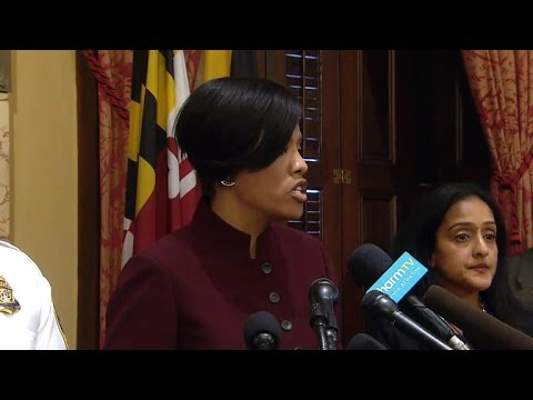 Justice Department report slams Baltimore police