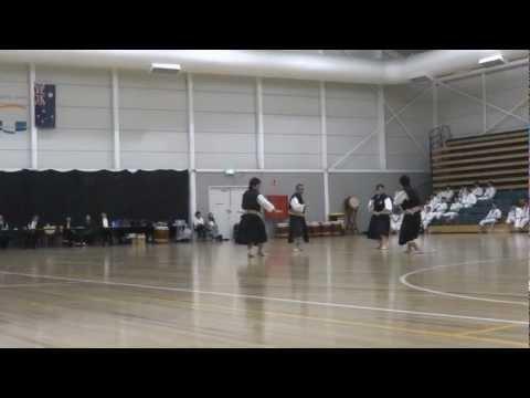 Nippon Sport Science University demonstration in Melbourne - Shorinji Kempo
