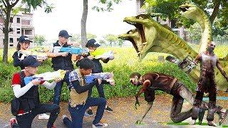 Superhero Action Hero Team Nerf Guns Zombies & Joker S.w.a.t Girls Vs Monste