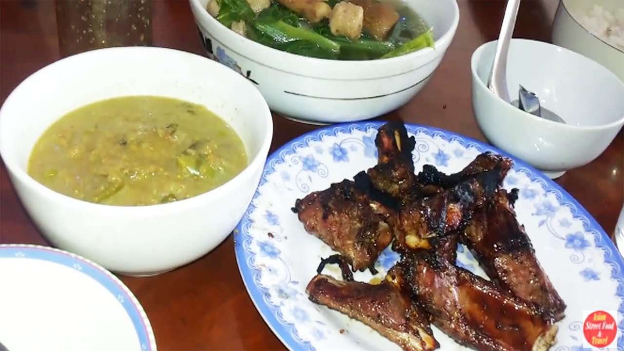 Download How We Cook And Eat At Home - Happy Family Lunch - Cambodian Family Food