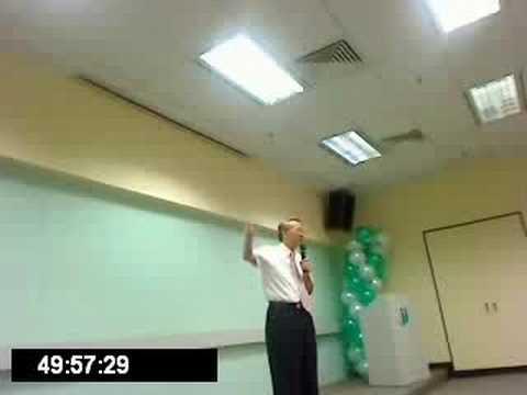 Health Management Origin C.K Tsao Speak in Kuala Lumpur 1/7