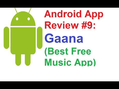 Android App Review #9: Gaana(Best Free Online Music App) - 동영상