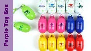 17 공룡메카드 캡슐모음 공룡메카드 장난감, Dino Mecard Egg Capsule Dinosaur Toys