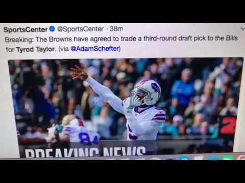 Jarvis Landry, Tyrod Taylor Browns Trade: Saquon Barkley As Cleveland NFL Draft Pick