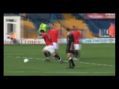 Rory Patterson from half way line: FC United of Manchester