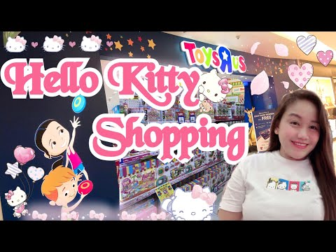 Hello Kitty Shopping @ Toysrus Singapore😍