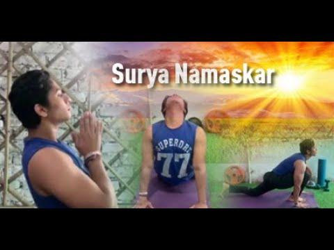 Learn How To Do Surya Namaksar / For Beginners