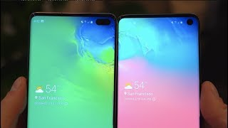 Samsung Galaxy S10 vs Galaxy S10 Plus: The Differences! Video