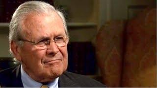 Donald Rumsfeld talks to Al Jazeera