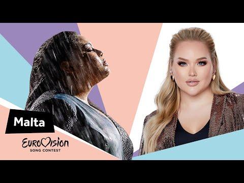 Eurovisioncalls Destiny - Malta 🇲🇹 with NikkieTutorials