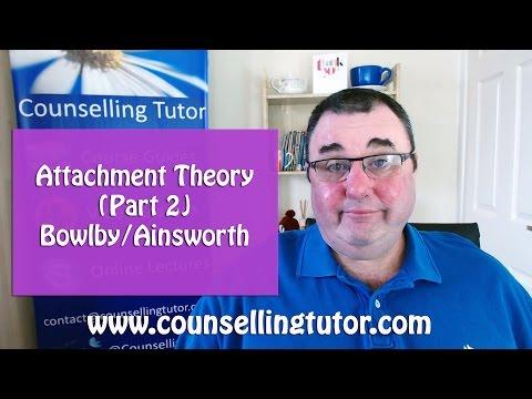 Attachment Theory (Part 2 John Bowlby - Mary Ainsworth)
