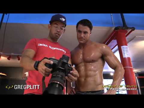 Natural Muscle Cover Shoot BTS PREVEIW