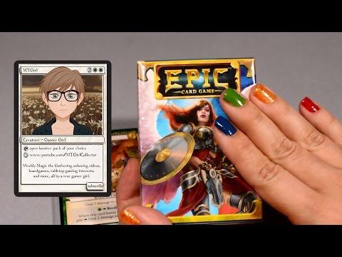 MTGirl: EPIC Card Game Unboxing