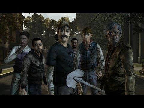 Прохождение Игры The Walking Dead Episode 4 Around