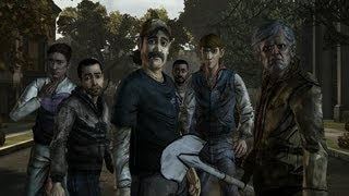 The Walking Dead Game - Full Episode 4: Around Every Corner Walkthrough HD [No Commentary]