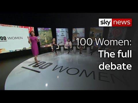 #100Women: The full Sky News debate