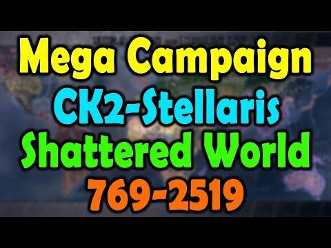CK2-Stellaris Mega Campaign Timelapse 769-2519 Shattered World Mod
