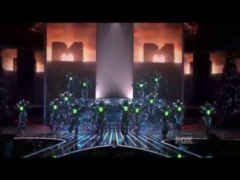 Cirque du Soleil - Michael Jackson: The Immortal World Tour: X-factor Liveshow, Finale