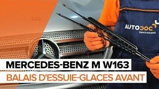 Instructions vidéo pour votre MERCEDES-BENZ GLK
