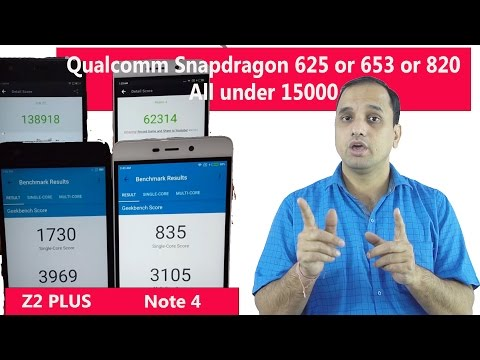 Qualcomm Snapdragon 625 or 653 or 820: All under ₹ 15000