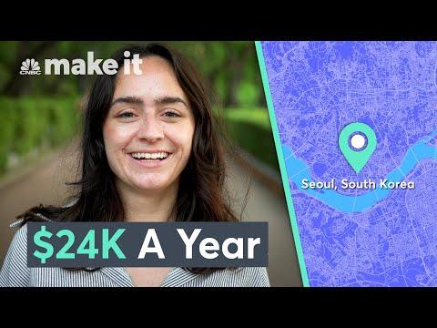 Living On $24K A Year In Seoul, South Korea | Millennial Money