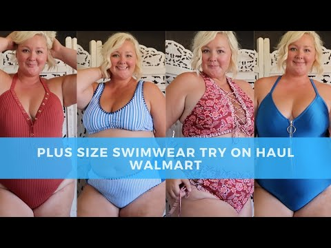 plus-size-swimwear-try-on-haul---2019-walmart-swimsuits---affordable-curvy-bikinis-and-one-pieces