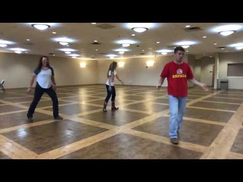 Electric Slide - Line Dance - FLAT LINER