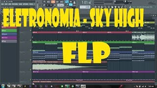 FL Studio 12 Tutorial | Elektronomia - Sky High (Flp)