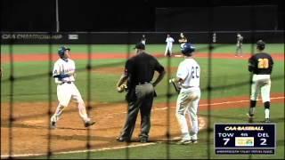 2012 va 529 caa baseball championship game 1 3 delaware 8 6 towson 7