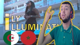 ILY - Illuminati ( REACTION )  Zinou MHD.