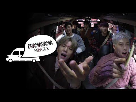 Van Live - MONSTA X 'DRAMARAMA' ENG SUB • Dingo Kdrama