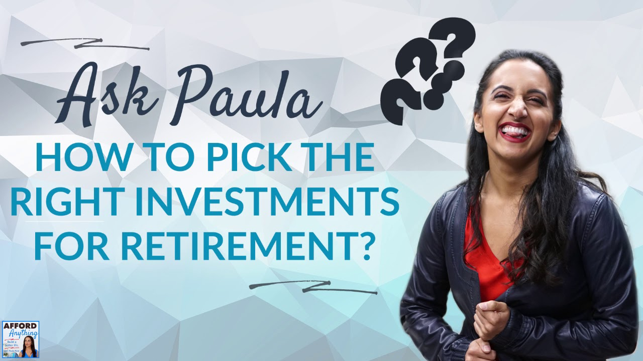 How to Pick the Best Investments for Retirement? | Afford Anything Podcast (Audio-Only)