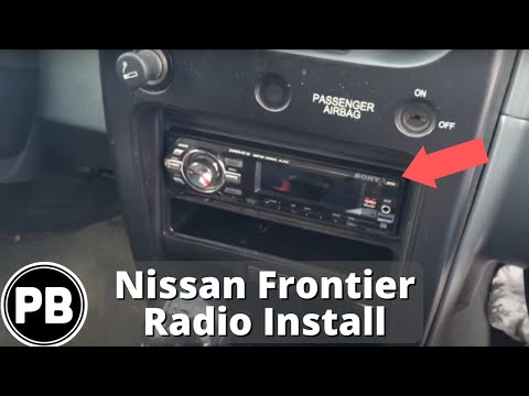 2000 2004 nissan frontier pioneer deh x6700bt stereo. Black Bedroom Furniture Sets. Home Design Ideas