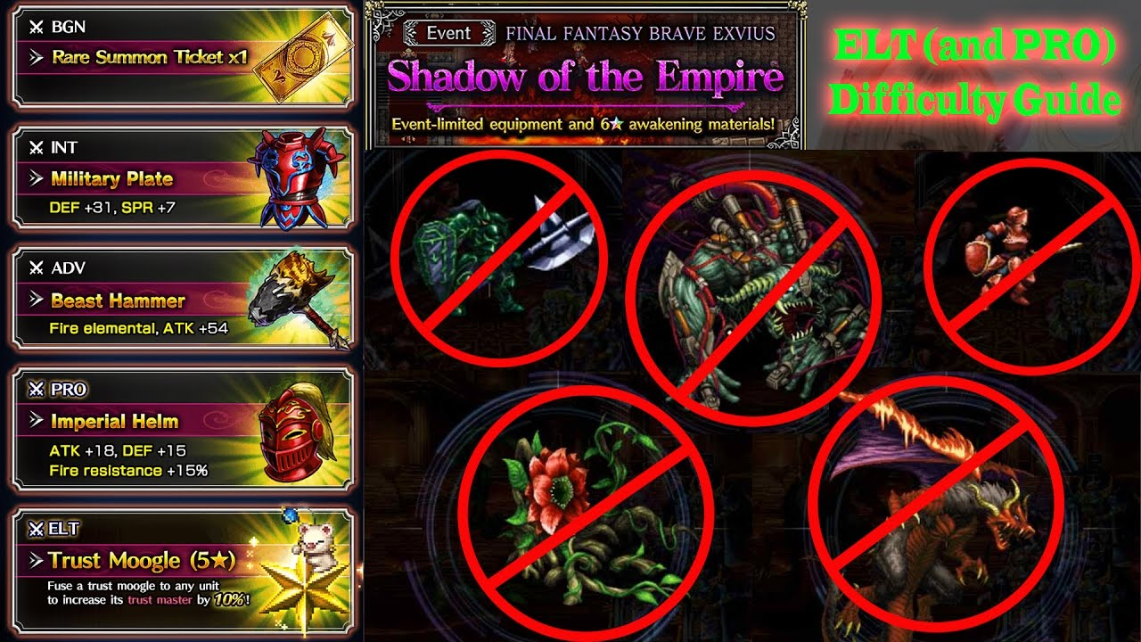 ffbe shadow of the empire