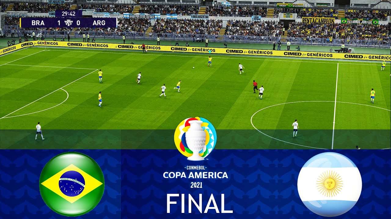 Copa America Final 2021: Argentina vs. Brazil Kickoff Time, How to ...