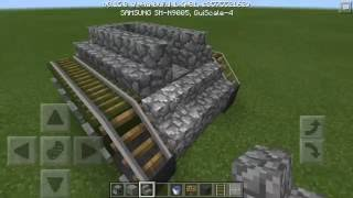 HOW TO MAKE WORKING TANK IN MCPE♢[HowToBuild]♢