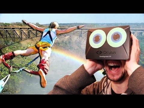 3...2...1...BUNGEEEE | Oculus Rift Bungee Jumping
