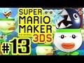 SUPER MARIO MAKER FOR 3DS # 13 ★ Fokus auf Clown-Kutschen-Level! [HD60]