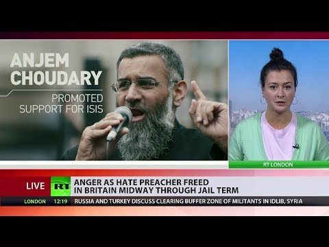 Anger as hate preacher Anjem Choudary freed midway through jail term