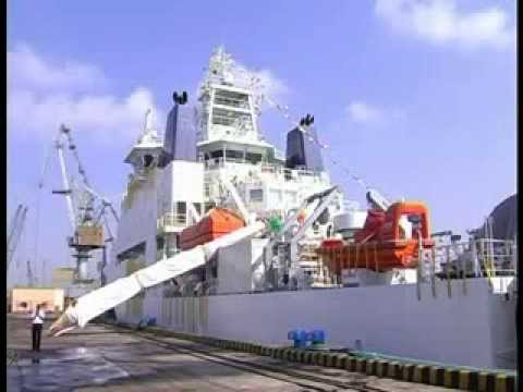 India's offshore exploration efforts: Research Vessel Samudra Ratnakar